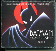 BATMAN THE ANIMATED SERIES VOLUME 2 Limited Edition 4-DISC SOUNDTRACK Box Set CD