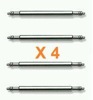 Pasador Correa Reloj de 20 mm - Acero Inoxidable - Pack de 4 Pasadores -