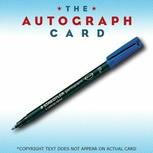 Staedtler Lumocolor Pen BLUE TheAutographCard Recommend Fine Point 318-3