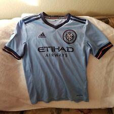 NEW YORK CITY FC SOCCER JERSEY - YOUTH MEDIUM - ADIDAS