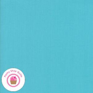 Moda BELLA SOLID 9900 191 Aqua Seafoam Blue Green Quilt Fabric MASK Material