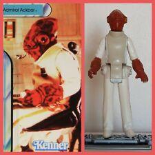 Amiral Ackbar. 1982. Star wars.figurine.Vintage.kenner.