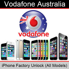 Vodafone Australia iPhone Factory Unlock Service (All Models)