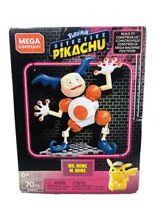 Mega Construx Pokemon Detective Pikachu Mr. Mime Building Set 70 Pieces