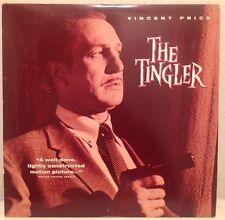 THE TINGLER (1959) LASERDISC LD RARE WILLIAM CASTLE VINCENT PRICE HORROR