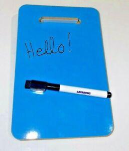 NEW A5 Fridge Whiteboard + Board Pen Marker Eraser Memo Reminder