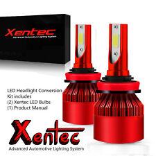 Xentec LED Headlight High Beam Kit 9005 HB3 6000K for Dodge Viper Charger Ram