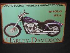 Harley Davidson Bar Pub Decorative Plaques & Signs