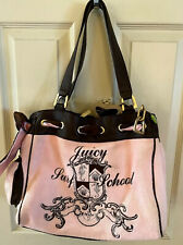 Juicy Couture Velour Pink Tote Satc