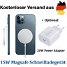 Für Apple iPhone 12 Mini/Pro/Max Schnellladegerät 15W MagSafe Charger Magnet Pad