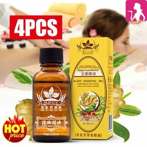 4pcs New Arrival Plant Therapy Lymphatic Drainage Ginger Oil 100% Natural DM
