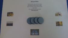 Set 4 x 30mm Teflon/PTFE Sliders Gliders, Sofas,Tables Etc