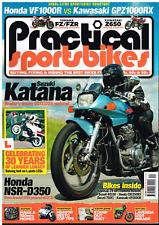 Practical Sportsbikes Issue 24 GSX1100S Katana VF1000R GPz1000RX NSR-D350 Mirage