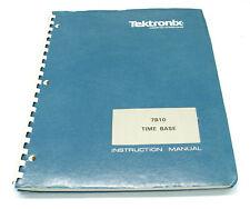 Tektronix 7B10 Time Base, Instruction Manual, Bedienung & Service, 7000er