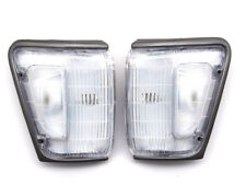 TOYOTA HILUX 4WD RN85 YN100 4RUNNER 1989-1991 clear grey white corner Lights Set