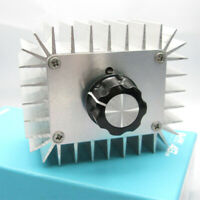 220V AC 5000W SCR Voltage Regulator Motor Speed Control Lamp Dimmer Thermostat