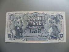 De Javasche Bank 10 Gulden 1933