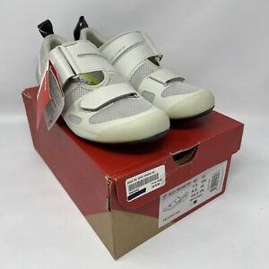 Specialized TRIVENT SC Carbon Triathlon Tri Shoes EU 40 US 7.5 White MSRP $275