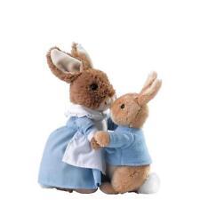 Peter Coniglio di Beatrix Potter Mrs Rabbit & PETER Peluche Giocattolo Morbido Baby Regalo A28256