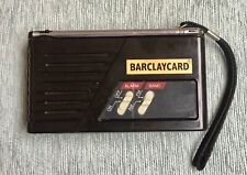 VINTAGE BARCLAYCARD  PORTABLE RADIO IN WORKING ORDER
