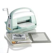 Cricut Cuttlebug Mint Version 3 Machine w Folders, Cutting Mats, Metal Dies NIB