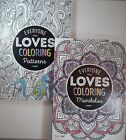 2 BENDON BOOKS Everyone Loves Coloring PATTERNS  MANDALAS 40 pgs FREE SHIPPING
