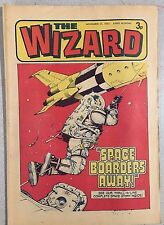 THE WIZARD weekly British comic book November 17, 1973