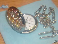 Stainless Steel Unbranded Half Hunter Pocket Watches