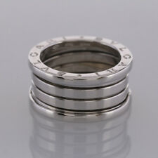 Bvlgari B.Zero1 Four Band Ring 18ct White Gold Size L 1/2 (52)