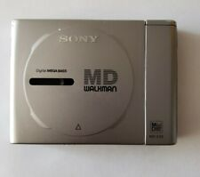 Sony Mz-E25 MiniDisc Portable Md Player Blue Tested Working Good