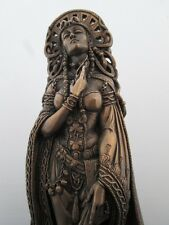Celtic Goddess Brigid Brigit at Well Pagan Wiccan Statue by Maxine Miller #11022
