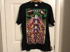 🔥Supreme🔥 Gilbert and George 1984 Death Box Logo T-Shirt Black