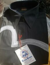 Evisu Mens  Long Sleeve  Black Shirt Size XL