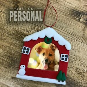 Christmas Tree Decoration Dog / Cat / Pets Photo Frame - 2 Designs