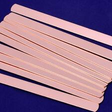 """Copper Long strip Stamping Blanks Bracelet 5pcs about 5""""*3/8"""" 18 Gauges 10166850"""
