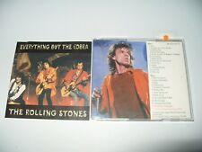 The Rolling Stones Everything But The Cobra 2 cd 25 Tracks 1995 Ex Condition