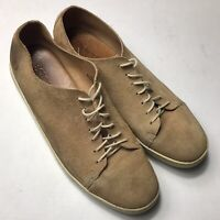 Born Hand Crafted Tan Genuine Suede Leather Shoes Men's 12M