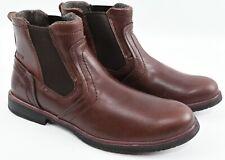 CAT Men's ARMITAGE Genuine Leather Chelsea Boots, Coffee Bean - UK 9 EU 43 WIDE