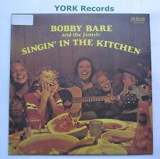 BOBBY BARE & THE FAMILY - Singin' In The Kitchen - Ex Con LP Record RCA Victor