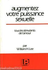 Livre santé  augmentez votre puissance sexuelle   book