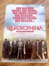 QUADROPHENIA Original LI125 SX200 Movie Poster MODS LAMBRETTA VESPA SCOOTER