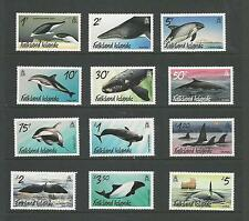 FALKLAND ISLANDS WHALES AND DOLPHINS SET (2012) MINT