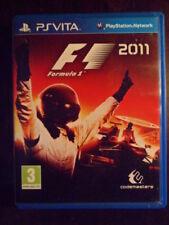 F1 PS Vita 2011 Formula 1 Carreras coches F 1 en castellano Playable in english.