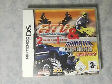 ATV THUNDER RIDGE RIDERS & + MONSTER TRUCKS MAYHEM NINTENDO DS 2DS 3DS ITALIANO