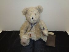 Boyds 100th Anniversary Teddy Bear Mohair Tags Signed Diary Theodore