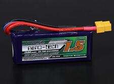 RC Turnigy nano-tech 1500mah 2S 35~70C Lipo Pack