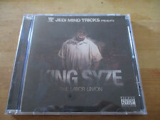 New Jedi Mind Tricks presents King Syze The Labour Union Rap hip hop cd
