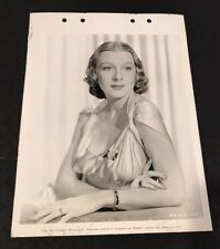 SHIRLEY ROSS Vintage Key Book Still Photo THE BIG BROADCAST  1938 singer actress