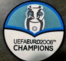 Patch Badge Euro 2012 UEFA maillots foot Espagne Spain Champions 2008