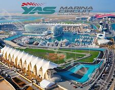 UAE - Abu Dhabi - YAS MARINA CIRCUIT - Travel Souvenir Flexible Fridge MAGNET